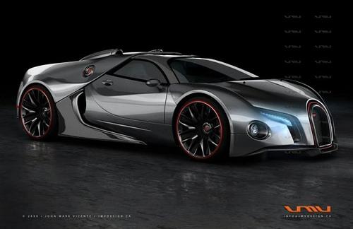 B 246 Se B 246 Ser Bugatti Das Concept Car Bugatti Renaissance Zeigt Einen M 246 Glichen Veyron