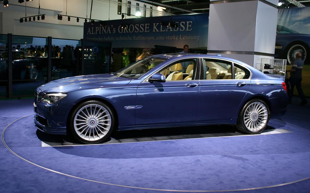 Zum Artikel BMW Alpina B7 BMW 7er mit starkem xDrive und 507 PS