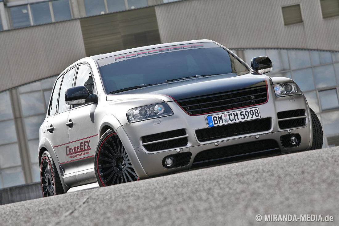 VW Touareg W12 Sport Edition Cover EFX
