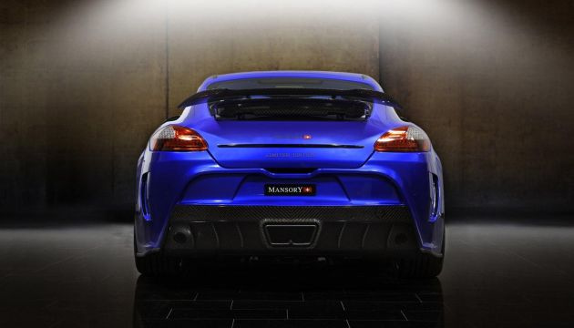 Porsche Panamera Turbo Mansory