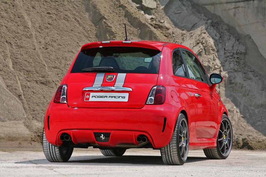 Fiat 500 Ferrari Dealers Edition Abarth Pogea Racing