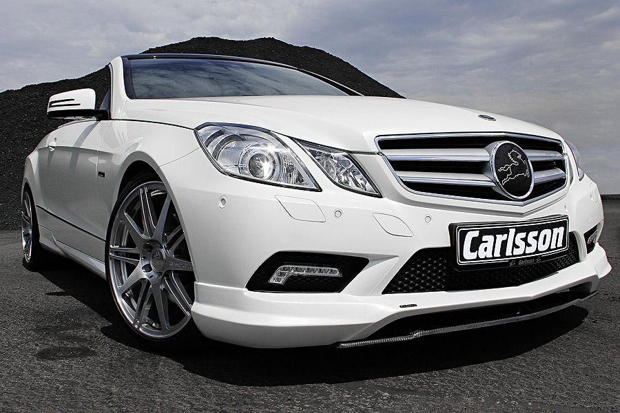 Mercedes E350 CDI Cabrio Carlsson