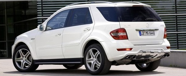 Mercedes ML 63 AMG Facelift 2010