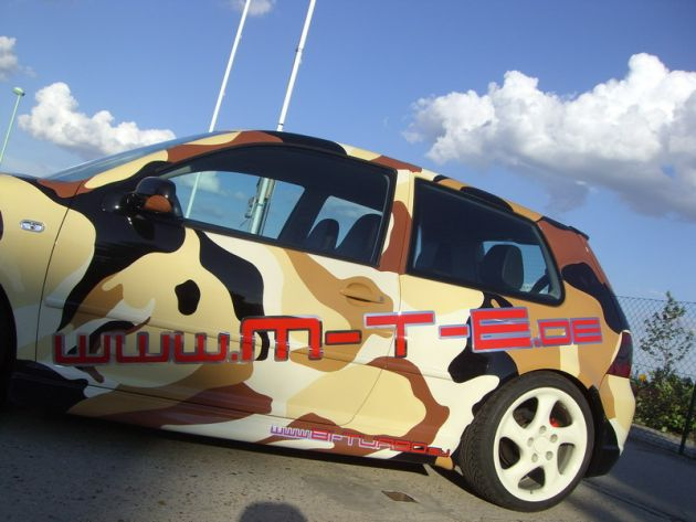 VW Golf 4 R32 MTE