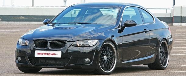 BMW 335i Coupé Black Scorpion MR Car Design