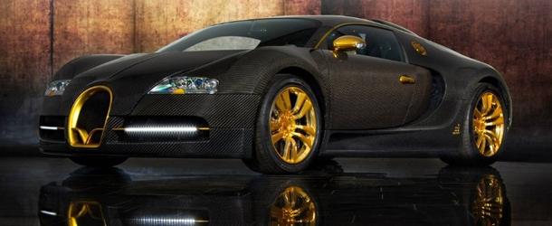 Bugatti Veyron Linea Vincerò d'Oro Mansory