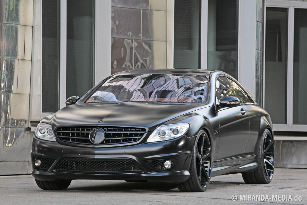 Mercedes CL 65 AMG Black Edition Anderson Germany
