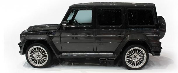 mansory g couture voll carbonisierter mercedes g55 amg tuning. Black Bedroom Furniture Sets. Home Design Ideas