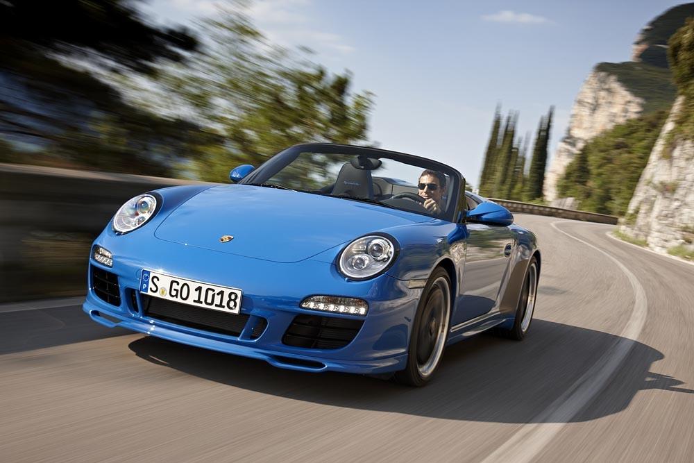 Porsche 911 Carrera Speedster GTS Pariser Autosalon 2010
