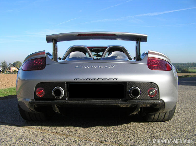 Porsche Carrera GT Kubatech 911