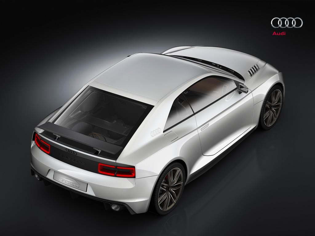 Audi Quattro Concept RS5 Rallye 2011