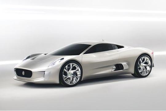 Jaguar C-X75 Concept Pariser Autosalon 2010
