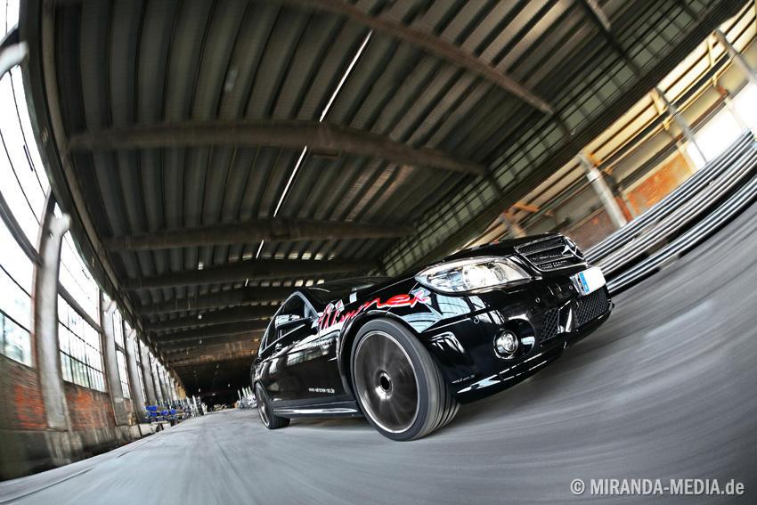Mercedes C63 AMG Wimmer Rennsporttechnik RST