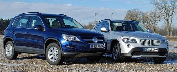 BMW X1 Vs. VW Tiguan