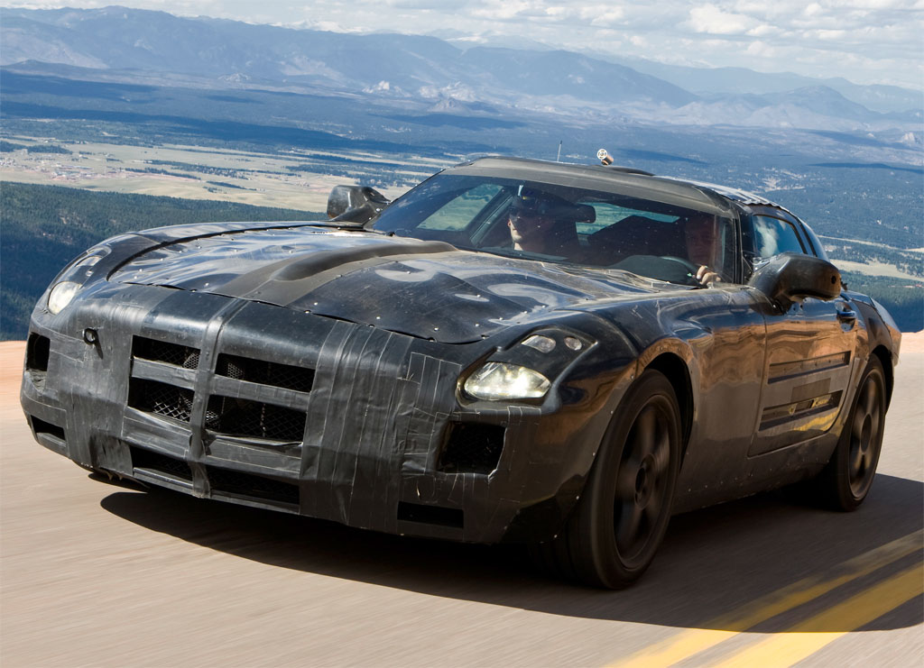 Mercedes Benz SLS AMG Roadster Cabrio