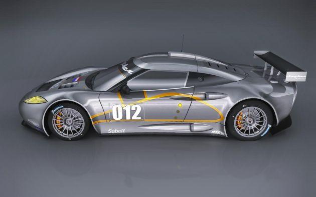 Spyker C8 Aileron GT Spyder 2012