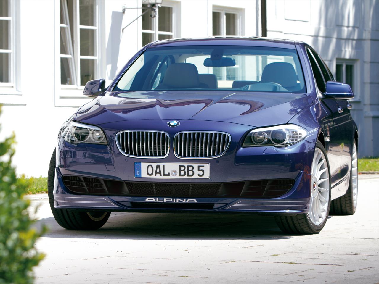 BMW Alpina B5 BiTurbo 5er F10