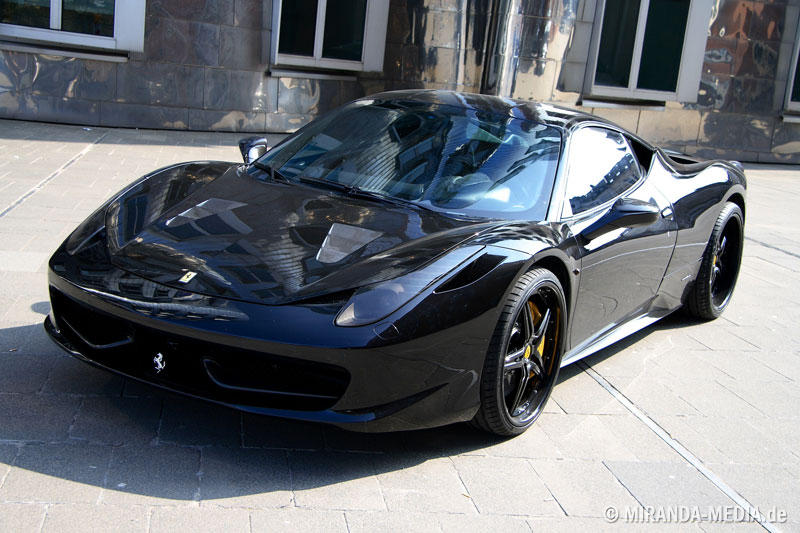 Ferrari 458 Italia Black Carbon Edition ANDERSON GERMANY