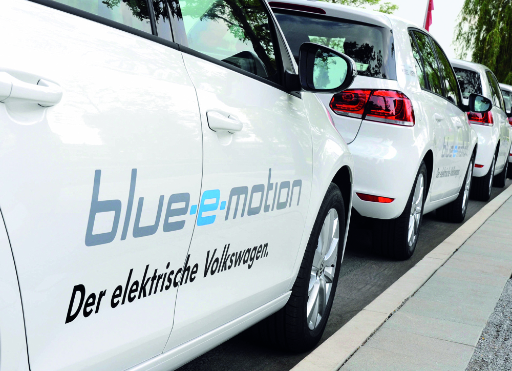 VW Volkswagen Golf 6 blue-e-motion