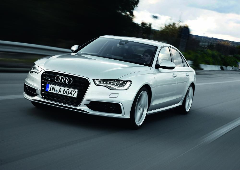 Audi A6/Fahraufnahme