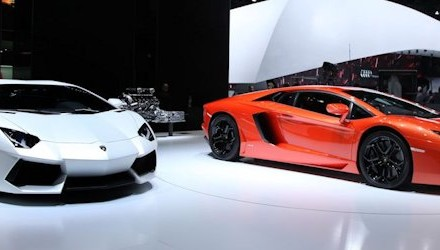 Lamborghini Aventador für 2013