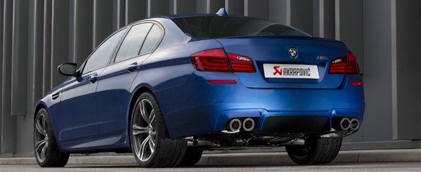 Akrapovic Abgasanlage für BMW M5 (F10)