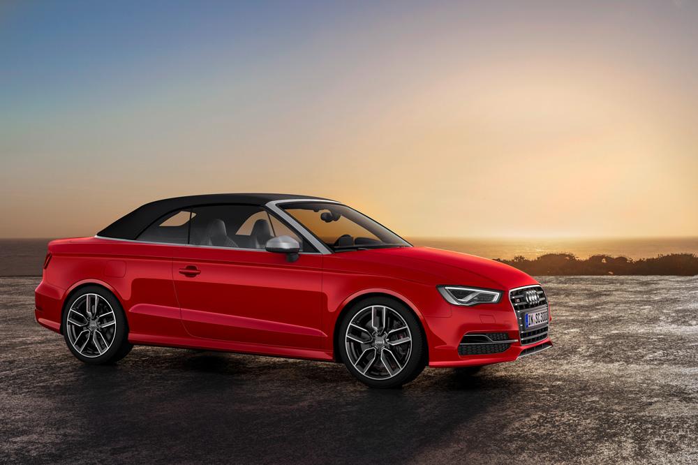Audi S3 Cabriolet 8v Mit 300 Ps Der Sonne Entgegen