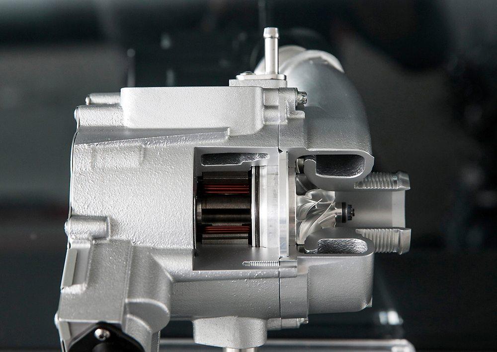 Der E-Lader des Audi RS5 TDI Concept