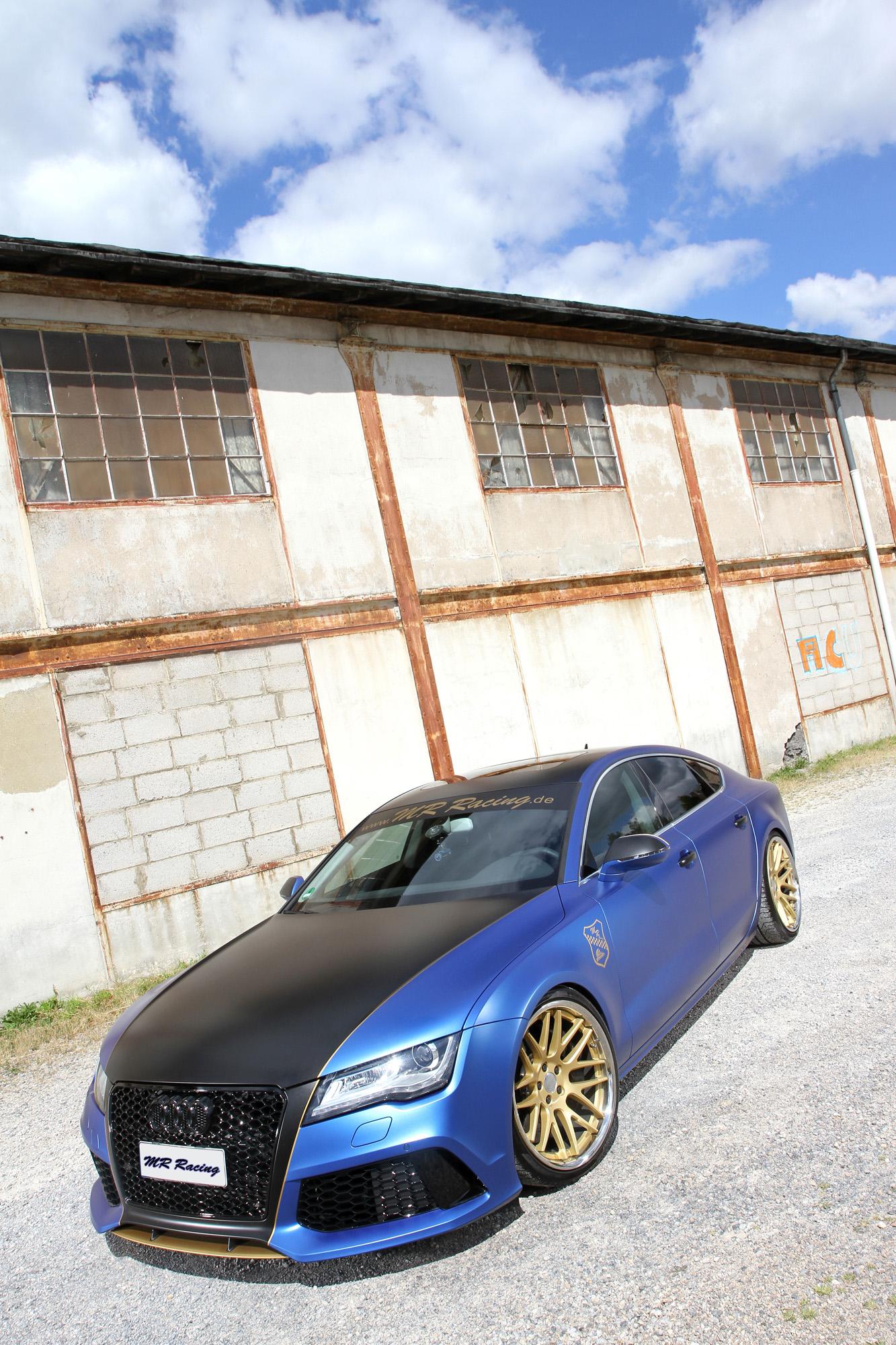 Markante Front des Audi A7 Sportback 3.0 TDI