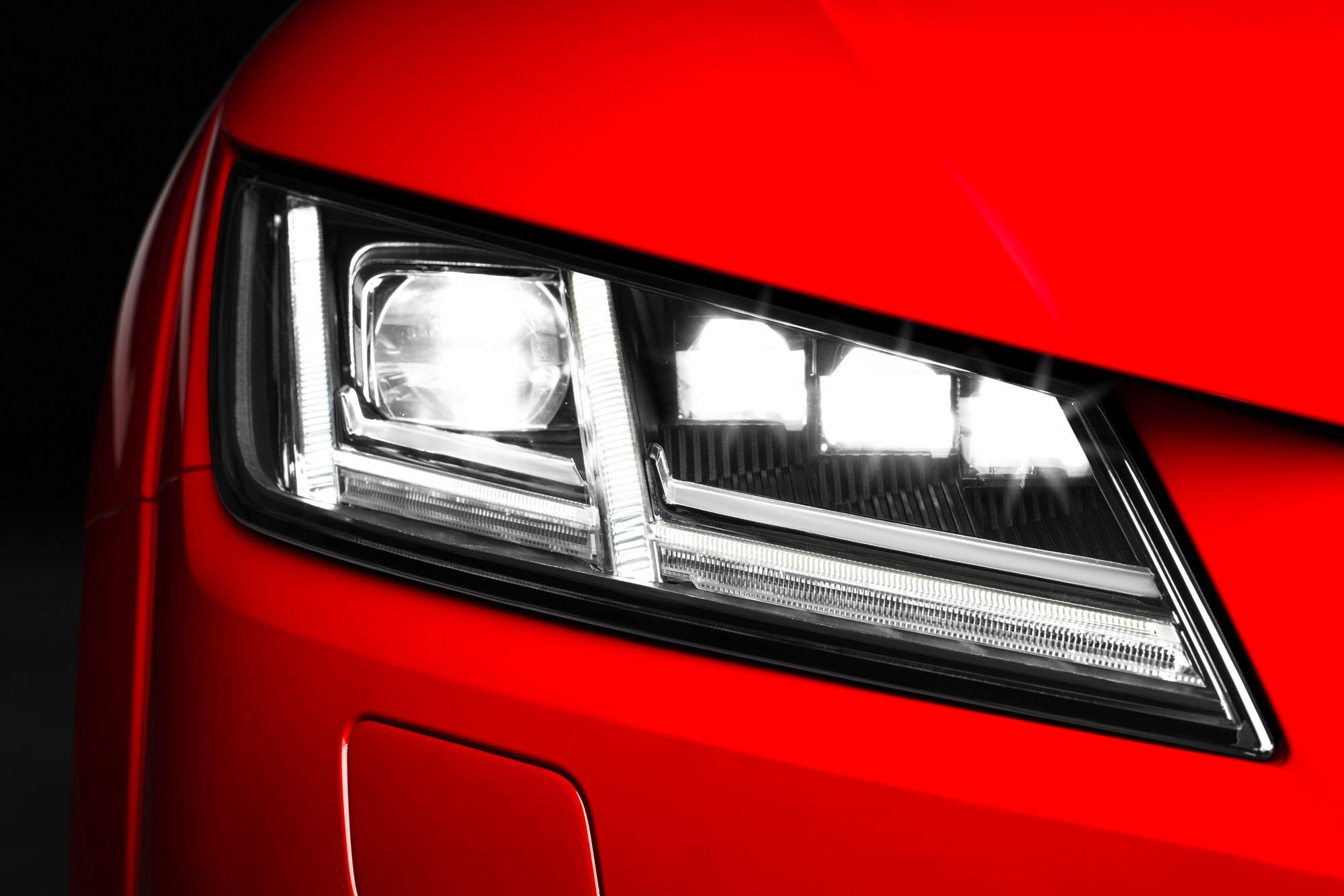 Matrix-LED-Scheinwerfer im Audi TT Coupé