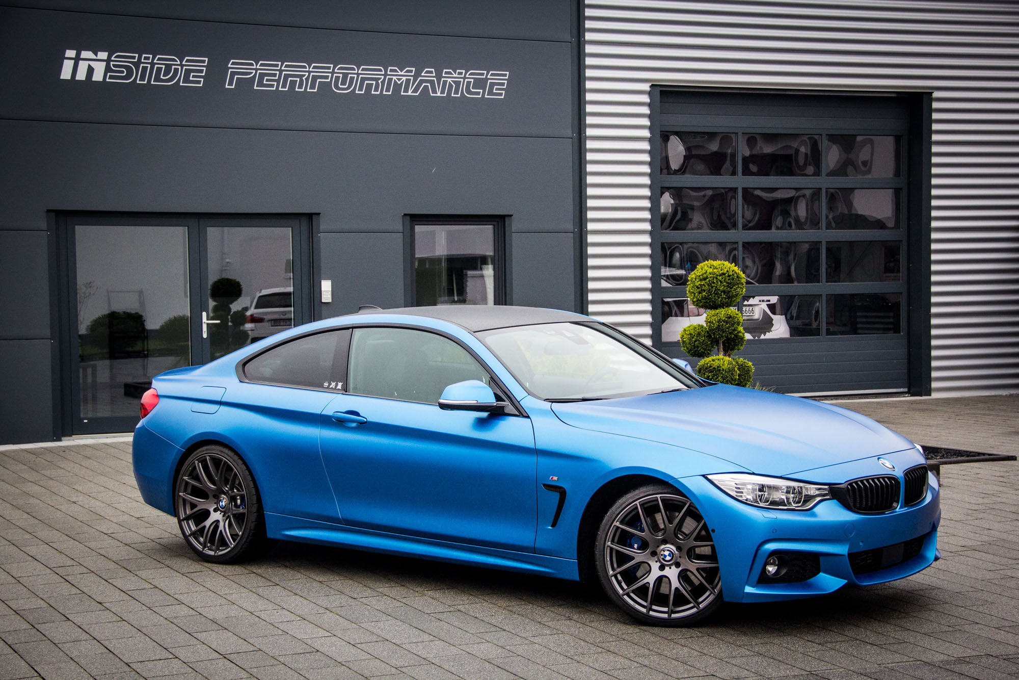 bmw 430d coup f32 neues tuningpaket la. Black Bedroom Furniture Sets. Home Design Ideas