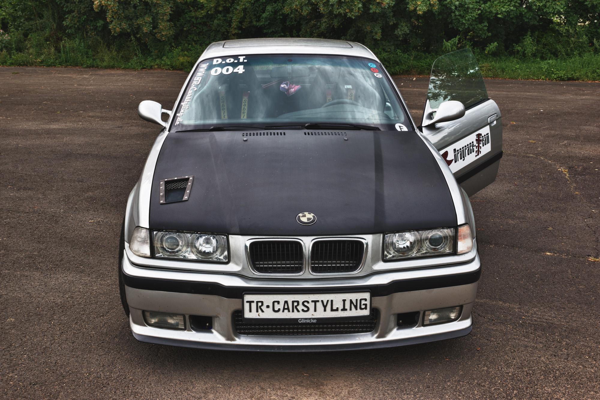 Xenon-Lichter als Update im BMW M3 Turbo