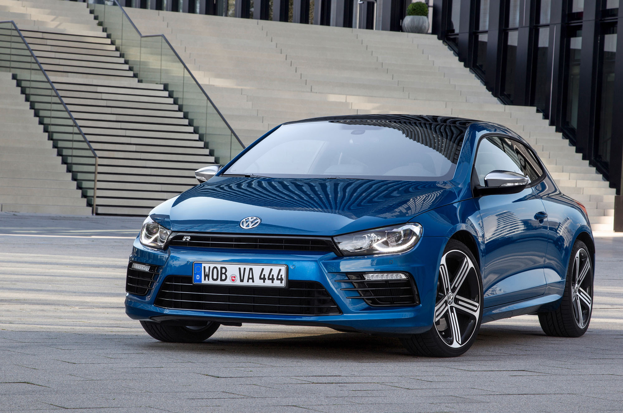 vw scirocco r 2014 facelift und 280 ps f r den. Black Bedroom Furniture Sets. Home Design Ideas