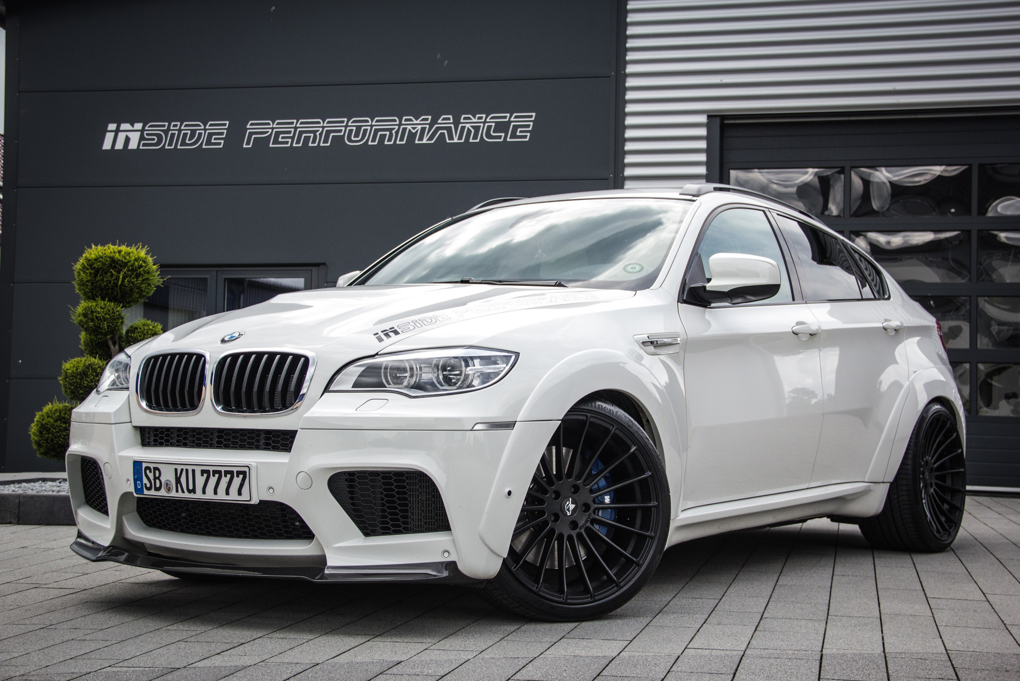Bmw X6 M White Shark E71 Insideperformance Sorgt F 252 R