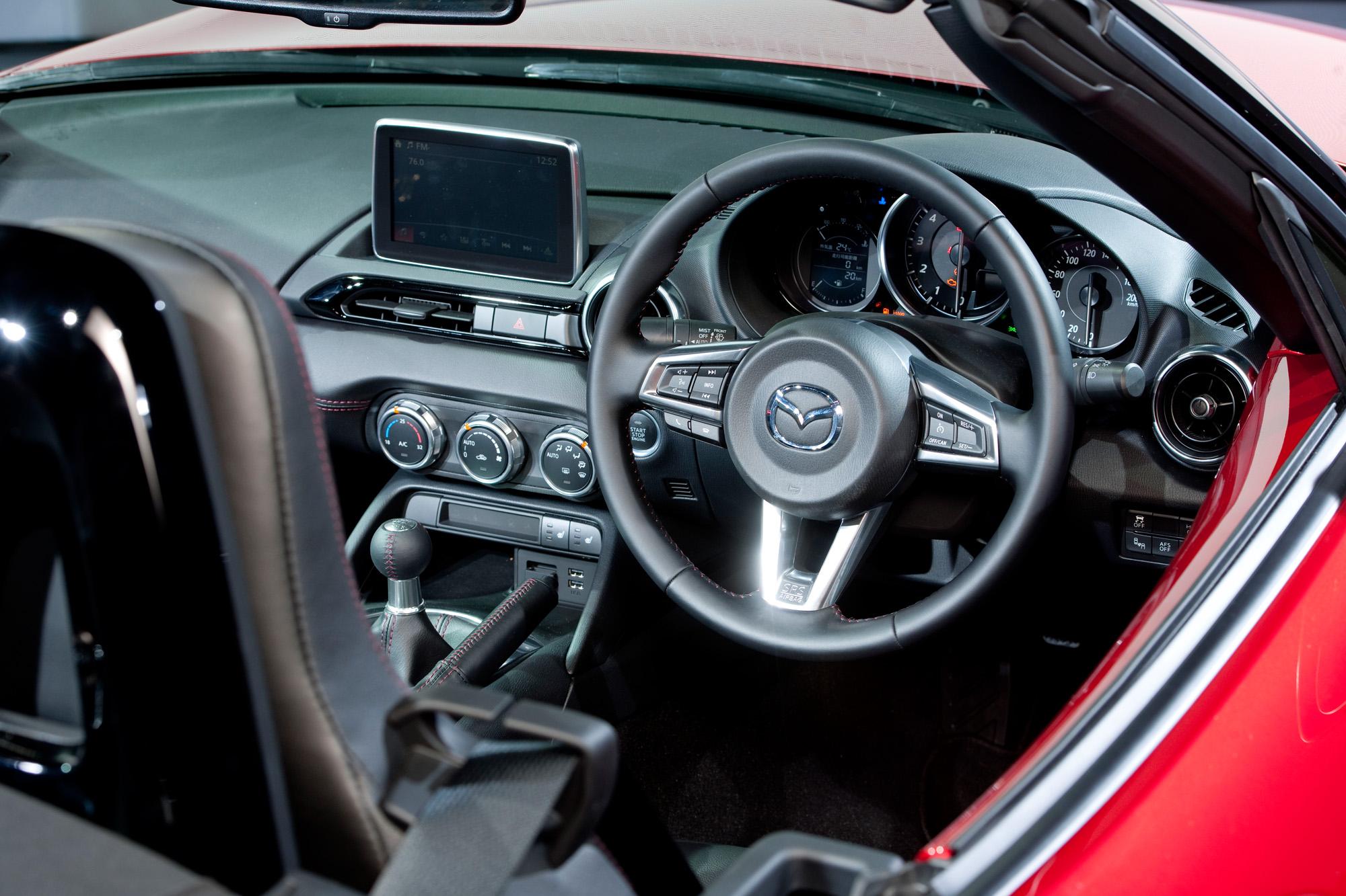 Bald auch als Linkslenker: Der neue Mazda MX-5 ND ab Q3 2015