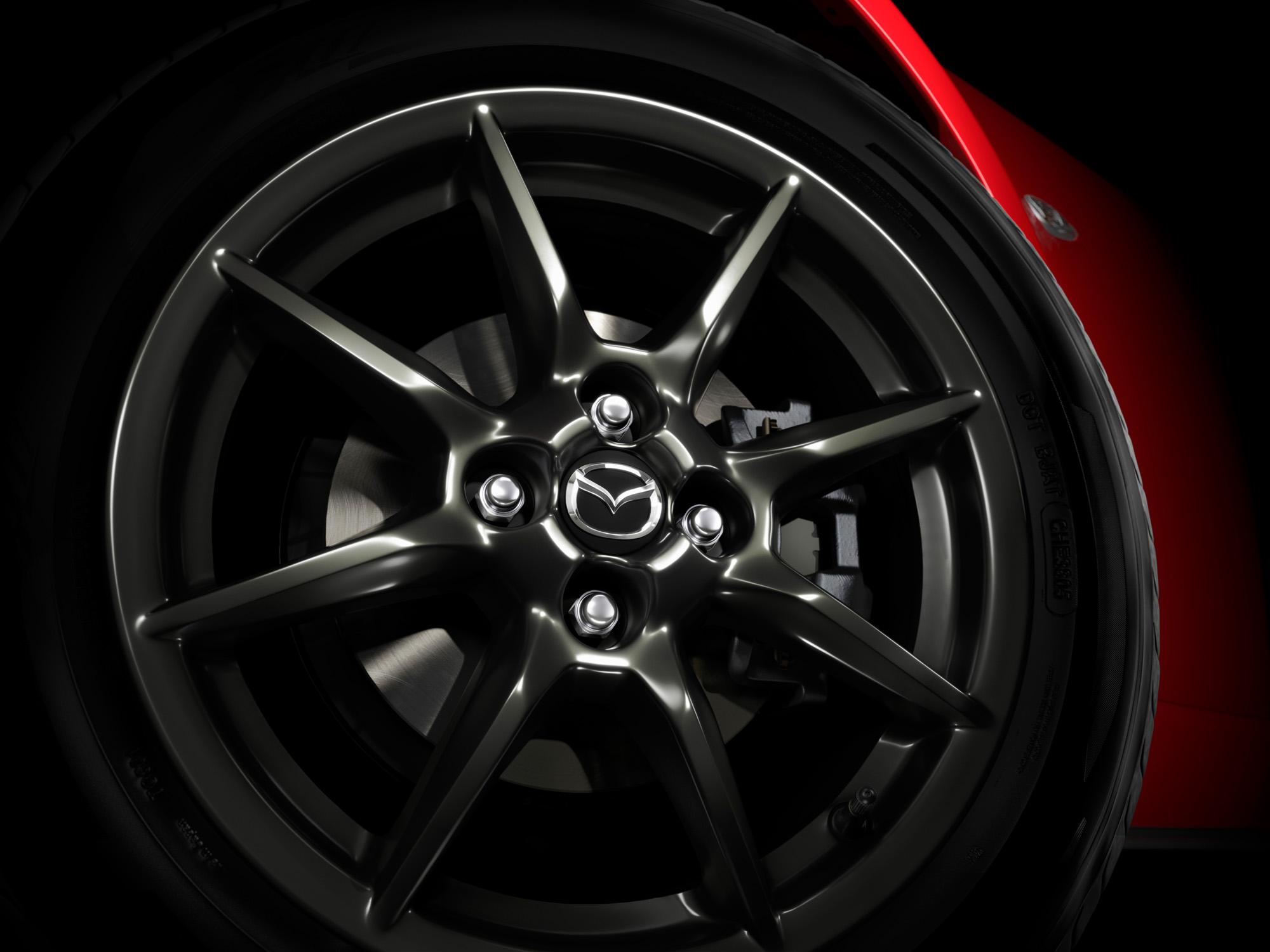 Formschönes Räderwerk: Der neue Mazda MX-5 bekommt 16-Zoll-Felgen