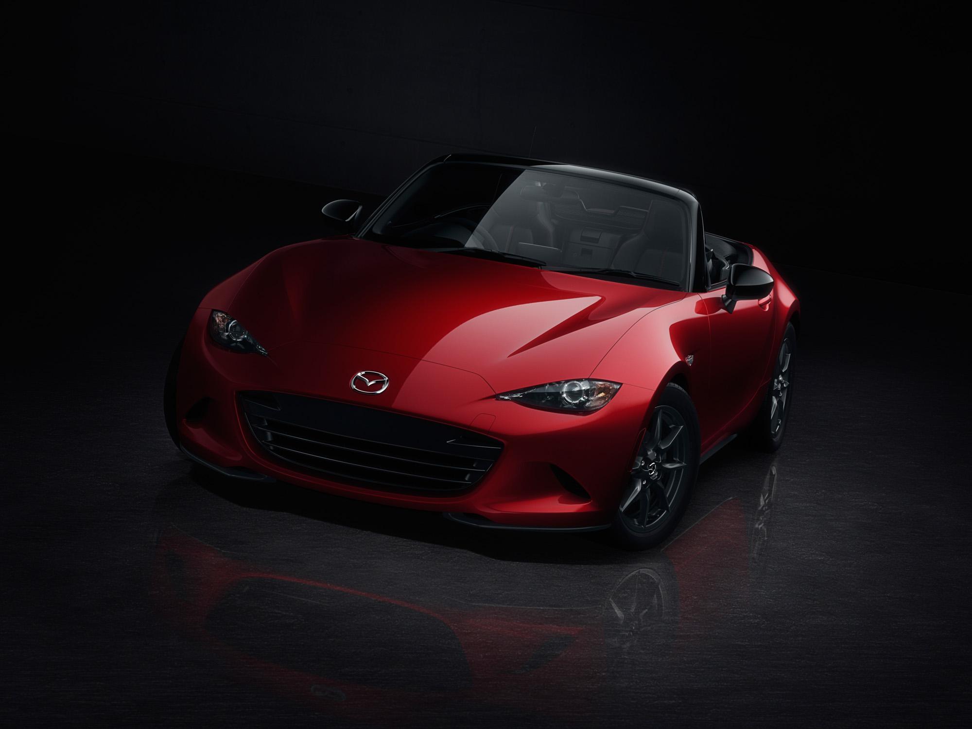 Weitblick: Ab Spätsommer 2015 wird der Mazda MX-5 erwartet