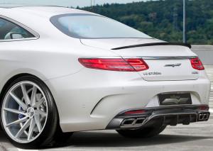Neues Räderwerk: Das Mercedes S 63 AMG Coupé ist großzügig besohlt