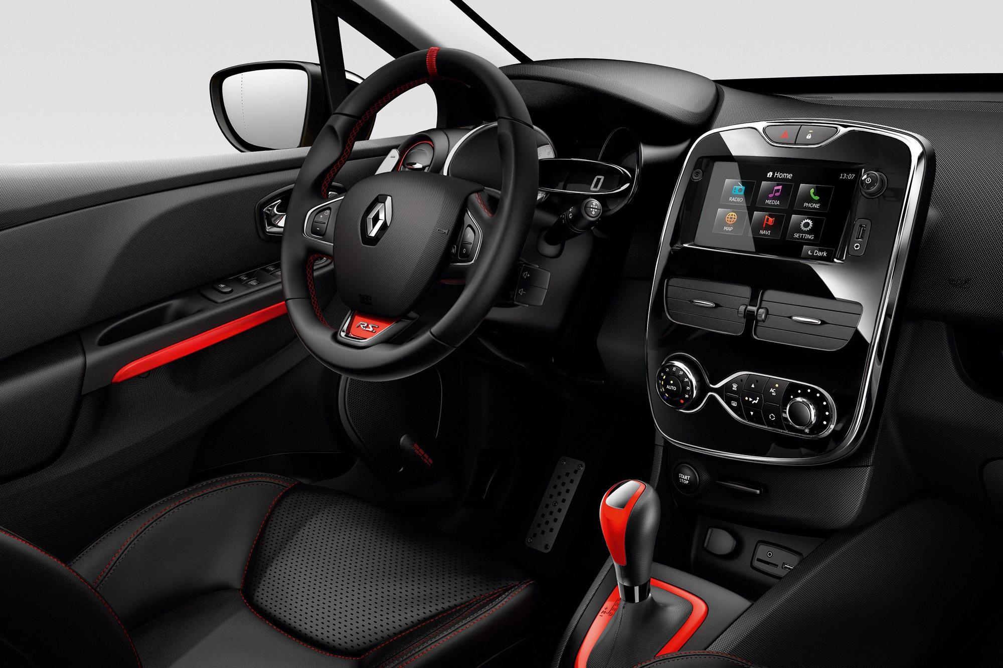 Sportlenkrad im Renault Clio R.S.