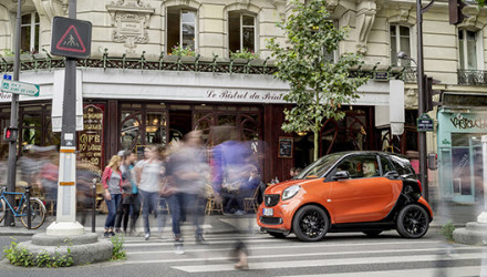 Der neue smart fortwo 2014, ParisThe new smart fortwo 2014, Par