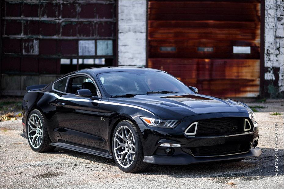 Neue Gesichtszüge: Die Front des Ford Mustang VI RTR wirkt wuchtig