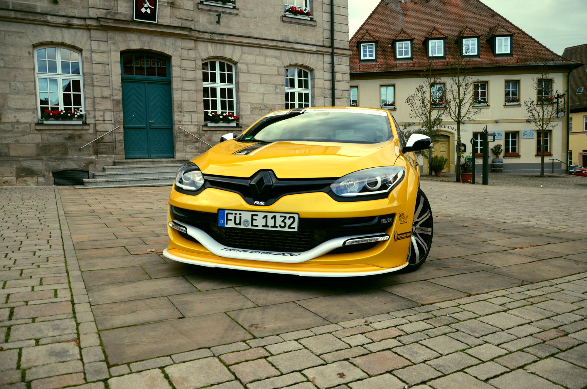 Auf Fahrspaß getrimmt: Der Renault Mégane R.S. Tour de Corse 300 trägt seinen Namen zurecht