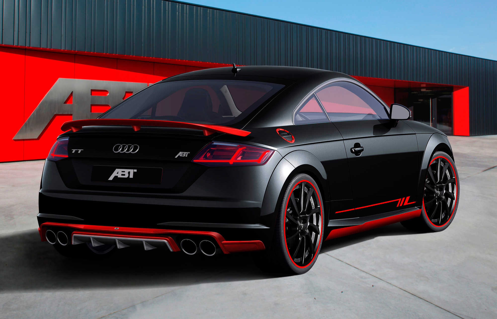 abt audi tt 2 0 tfsi 8s premiere auf der ems 2014. Black Bedroom Furniture Sets. Home Design Ideas