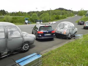 Einparken leicht gemacht: Fahrerassistenzsysteme können auch hier unterstützen