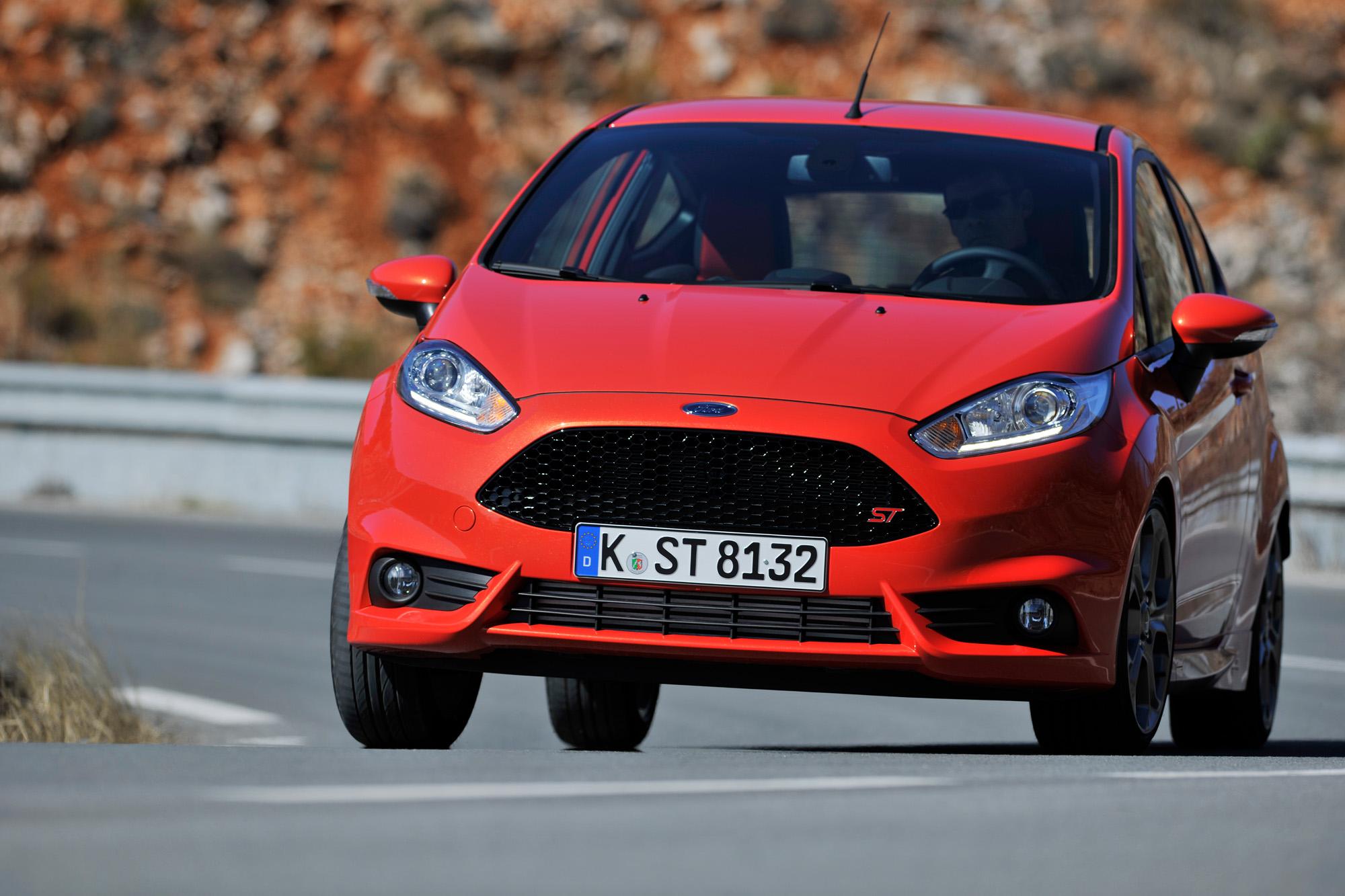Unterwegs mit dem Ford Fiesta ST