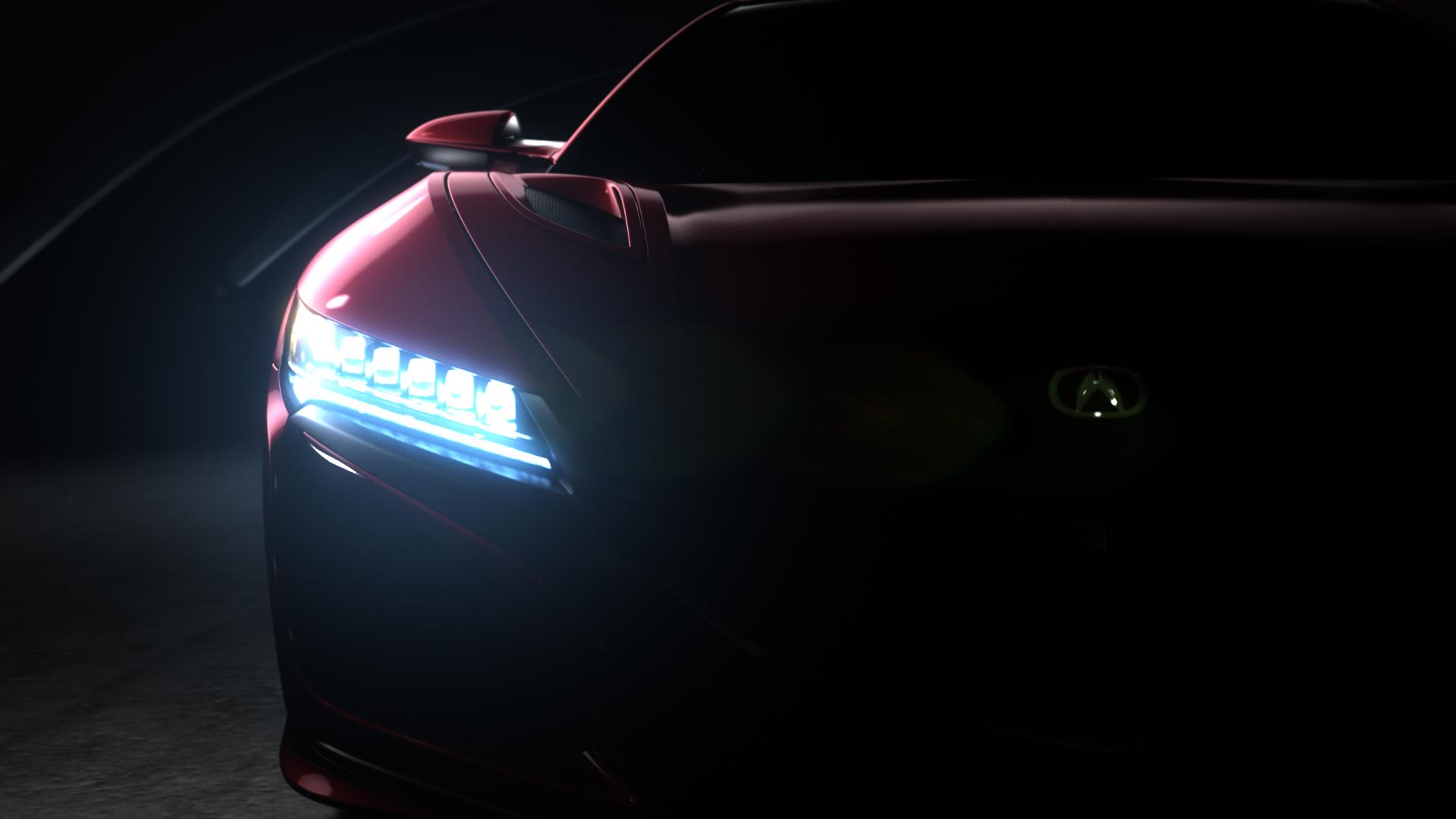 Honda Acura NSX vorn