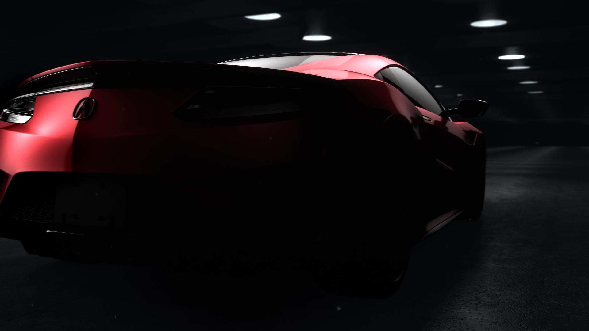 Honda Acura NSX hinten