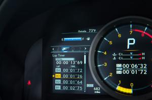 Alles auf einen Blick: Die Multifunktionsanzeige im Cockpit