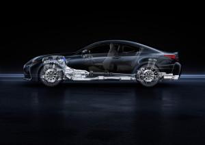 Reichlich Unterstützung für den Heckantrieb an Board des Lexus RC F