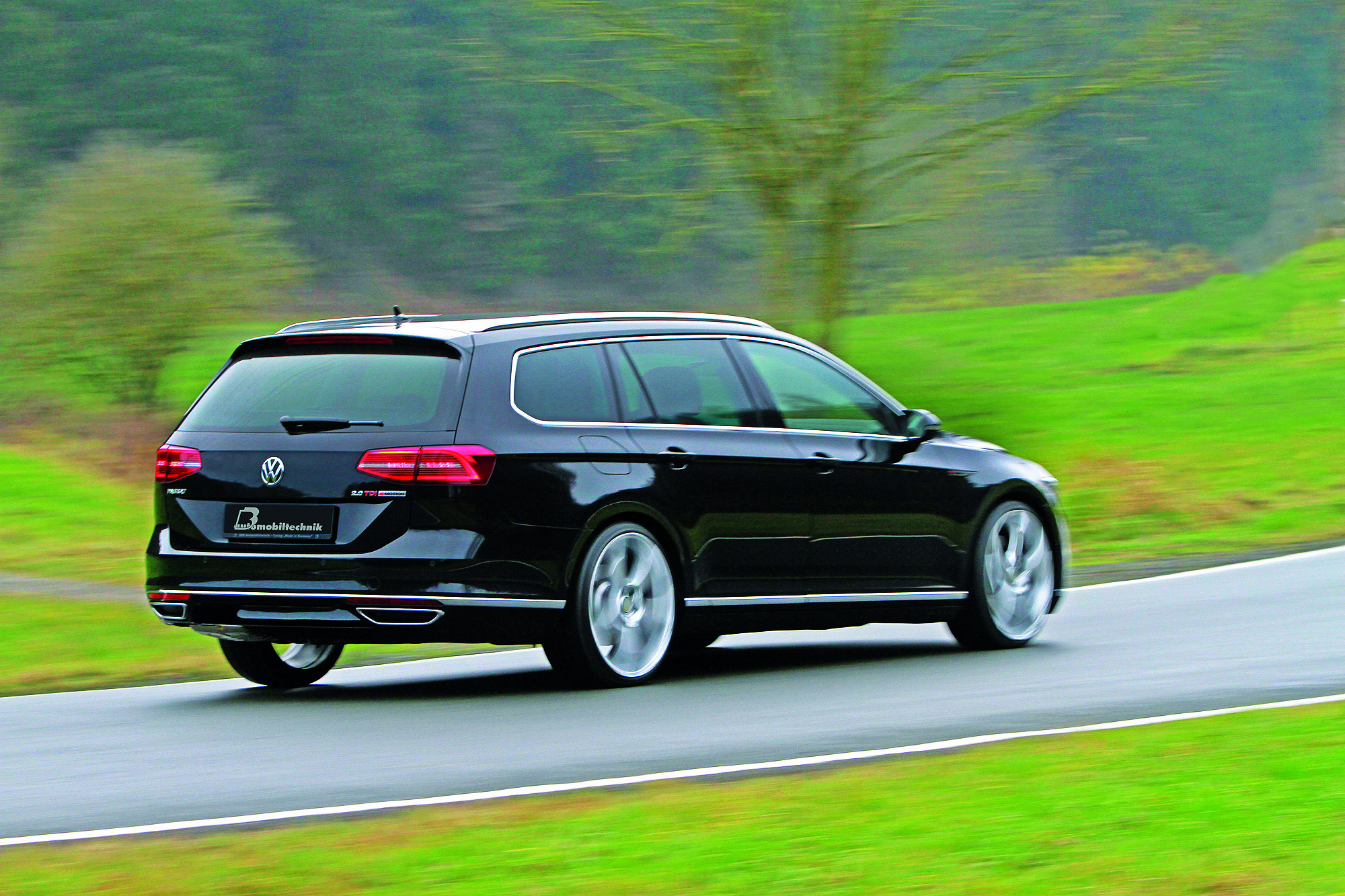 vw passat 2 0 tdi b8 tuning paket von b b. Black Bedroom Furniture Sets. Home Design Ideas